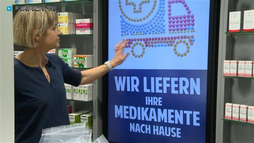 Filmreportage zu Hirsch-Apotheke  Inh. Petra Mews