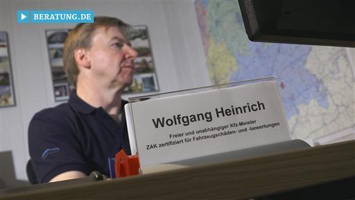 Filmreportage zu ZAK Zert Kfz-Sachverständigenbüro Wolfgang Heinrich