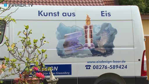 Filmreportage zu Eis-Design  Eisschnitzer  Klaus Grunenberg
