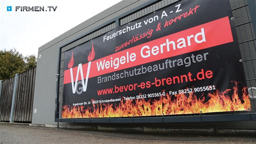 Videovorschau W.G. Brandschutz Feuerschutz von A-Z zuverlässig und korrekt