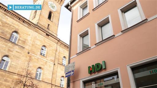 Filmreportage zu HDI Filiale Fürth Franz Pickl
