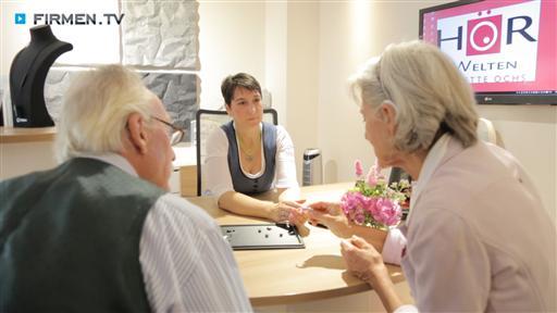 Filmreportage zu Hörwelten  Annette Ochs
