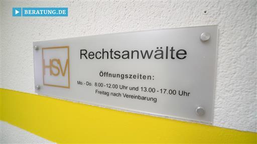 Videovorschau HSV Rechtsanwälte GbR