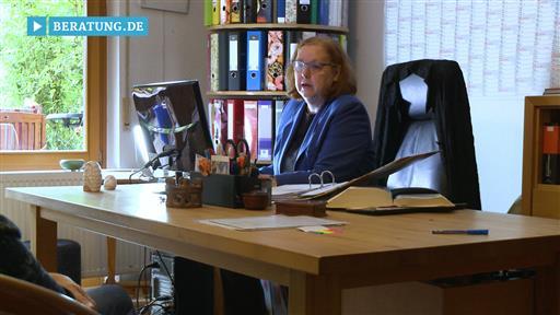 Filmreportage zu Rechtsanwältin  Dorothea Seufert-Dittes