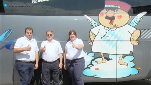 Filmreportage zu Busreisen  Johann Spangler