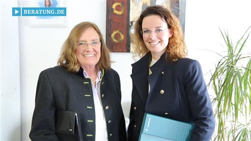 Filmreportage zu Bonnfinanz  Christiana M. Suden Finanz- und Generationenberaterin & Sigrid Suden Juristin