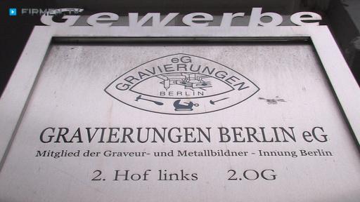 Videovorschau Gravierungen Berlin eG