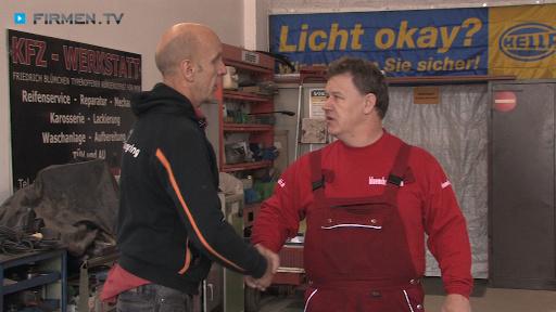 Filmreportage zu Blümchen's Kfz. Handel & Dienstleistungen