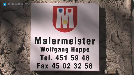 Filmreportage zu Malermeister Wolfgang Hoppe