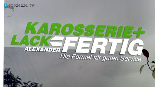 Videovorschau Karosserie + Lack FERTIG Alexander