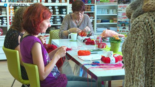 Filmreportage zu Kreativ In  Wolle & Kurzwaren