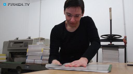 Videovorschau Buchbinderei Mensch Meisterbetrieb