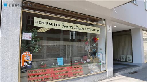 Filmreportage zu Repro-Copyshop-Lichtpauserei  Franz Resch e.K.