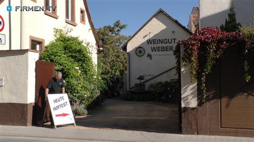 Filmreportage zu Weingut Weber Hof-Bärenstein