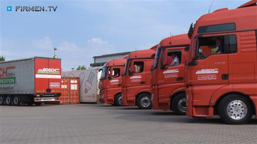 Videovorschau Internationale Logistik  Spedition Xaver Bosch GmbH
