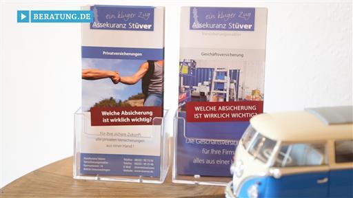 Videovorschau Assekuranz Stüver Horst Stüver Versicherungsmakler