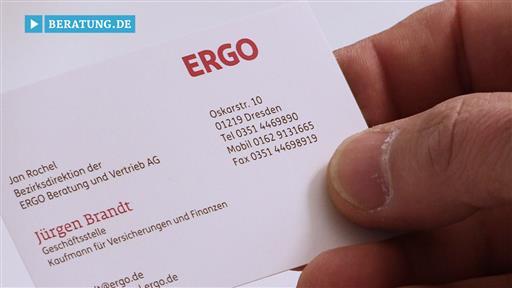 Videovorschau Jürgen Brandt Geschäftsstellenleiter der ERGO Beratung und Vertrieb AG