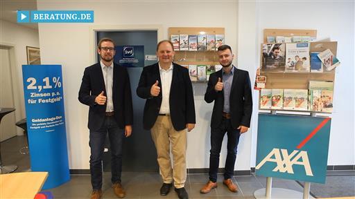 Videovorschau Sven Landua Generalvertretung der AXA Versicherung AG