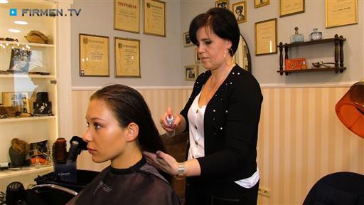 Filmreportage zu Salon Hairdresser  Rocco Kirmße