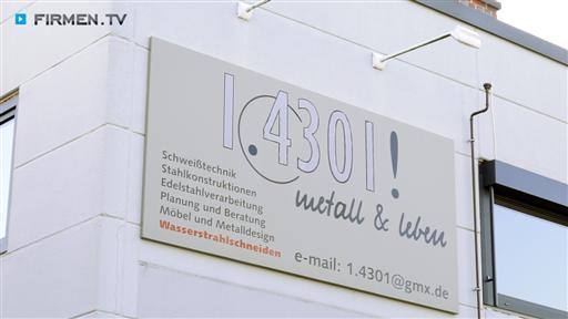 Videovorschau 1.4301! metall & leben GmbH