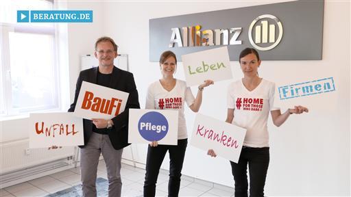Videovorschau Matthias Cimander  Generalvertretung der Allianz