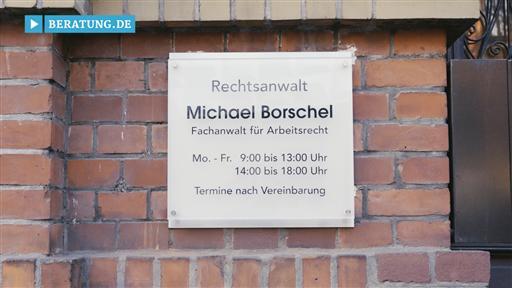 Filmreportage zu Anwaltskanzlei  Michael Borschel