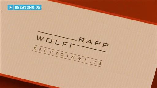 Videovorschau Wolff-Rapp Rechtsanwälte
