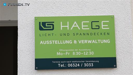 Videovorschau HAEGE GmbH & Co. KG