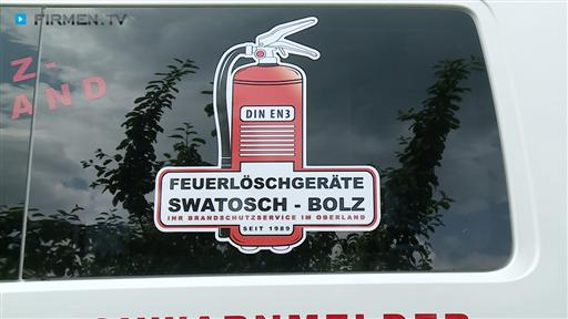 Filmreportage zu Feuerlöschgeräte Swatosch-Bolz Inh. Christoph Bolz