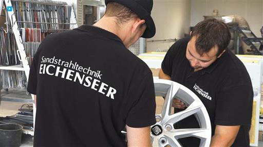 Videovorschau Sandstrahltechnik Eichenseer GmbH