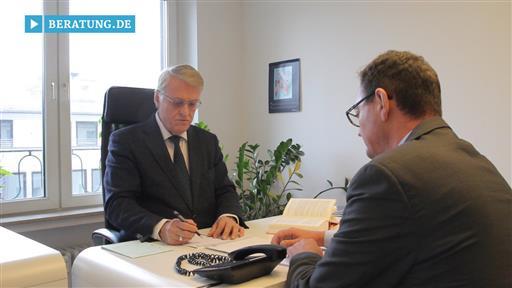 Videovorschau Dr. jur. Hans Scholzen