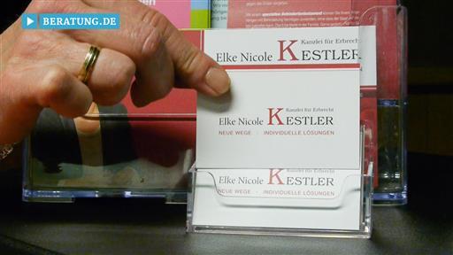 Videovorschau Kanzlei für Erbrecht Elke Kestler