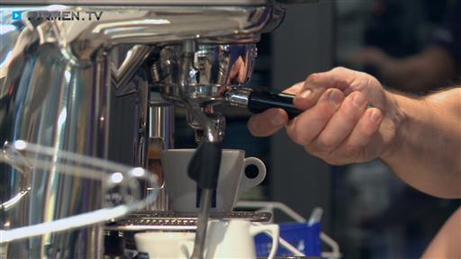 Filmreportage zu Galleria  Lavazza-Espresso-Bar