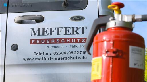 Filmreportage zu Meffert Feuerschutz e.K.