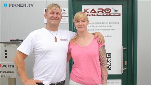 Filmreportage zu KARO Systembau NRW