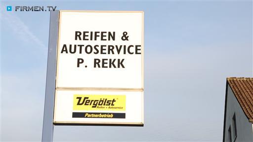 Filmreportage zu Reifen & Autoservice  P. Rekk