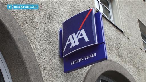 Videovorschau Kerstin Zilker Regionalvertretung der AXA Versicherung