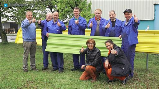 Filmreportage zu Bowa-Stahlprofil  Zweigniederlassung der inmet Stahl GmbH & Co. KG